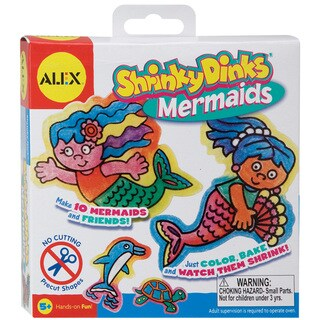 Shrinky Dink Activity Kits-Mermaids