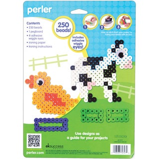 Perler Fun Fusion Biggie Fuse Bead Activity Kit-Farm
