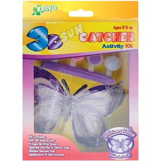 3-D Suncatcher Activity Kits-Butterfly