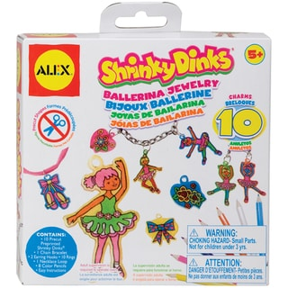 Shrinky Dinks Jewelry Kit-Ballerina