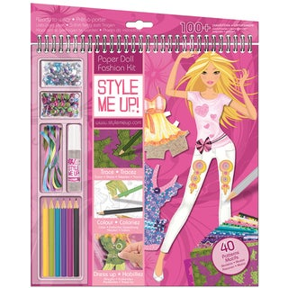 Style Me Up Summer Crush Clothing Designer Sketchbook-Paper Fashion