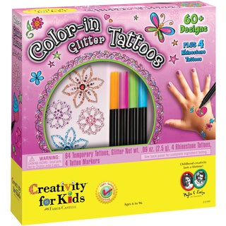Color-In Glitter Tattoos Kit-