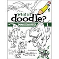 Dover Publications-What To Doodle? Dinosaurs!