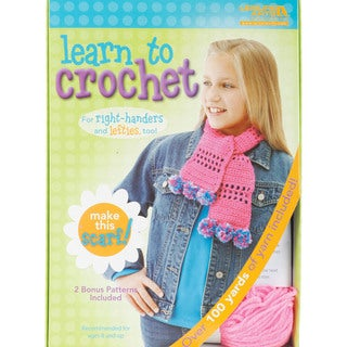 Learn To Crochet -Scarf-