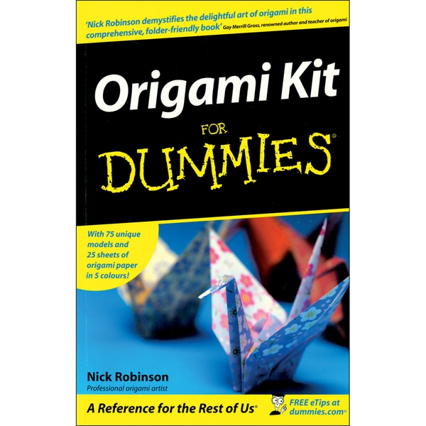 Wiley Publishers-Origami For Dummies Kit