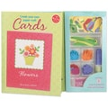 Create Your Own Paper Craft Cards Book Kit-Flowers