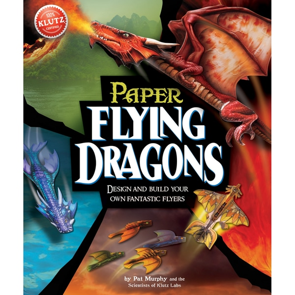 Paper Flying Dragons Book Kit
