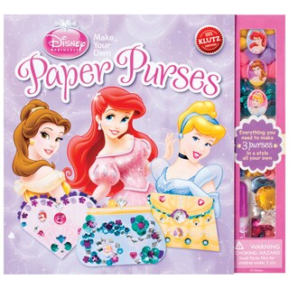 Paper Purses Book Kit-Disney Princess