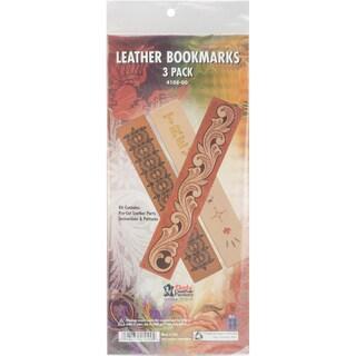 Leathercraft Quick Kits-Bookmarks 3/Pkg