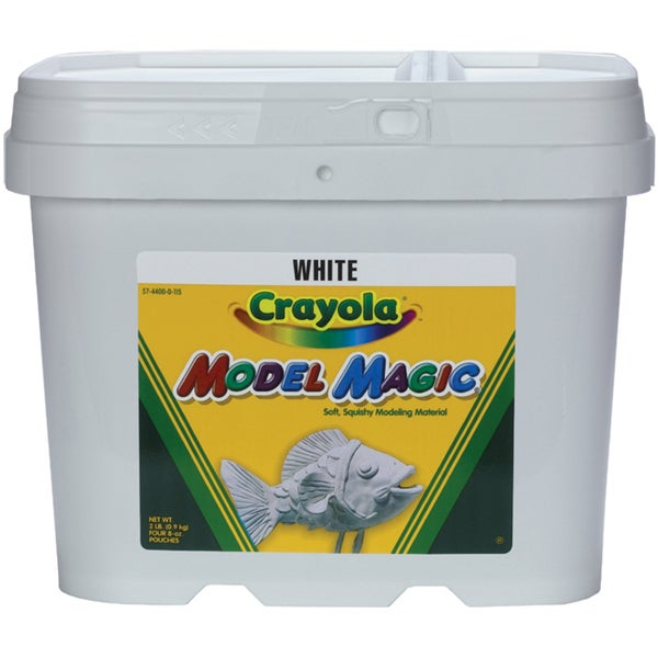 Crayola Model Magic 2 Pound Tub-White