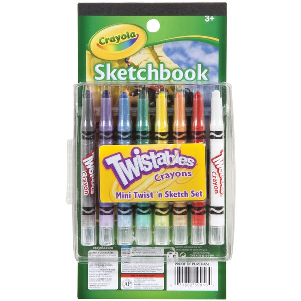 Crayola Mini Twist 'n Sketch Set-Twistables