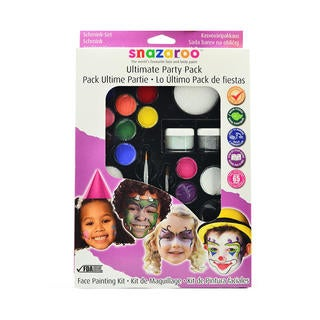 Snazaroo Ultimate Party Pack Face Painting Kit