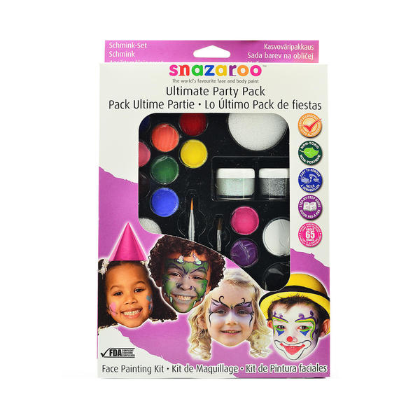 Pack Of Washable Face Paints At Walmart
