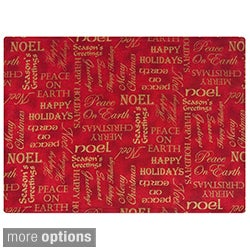 Rose Tree Season's Greetings Placemats (Set of 6)