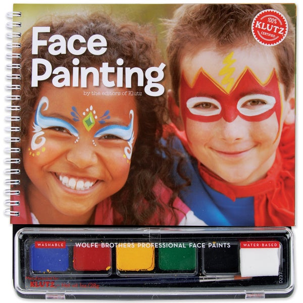 Face Painting Book Kit-