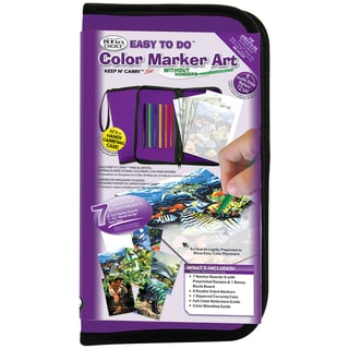 Big Kid's Choice Easy To Do Keep N' Carry Set-Color Marker Art