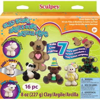 Sculpey Clay Activity Kit-Clay Bears