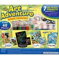 Art Adventure Super Value Pack Kit-40+ Pieces