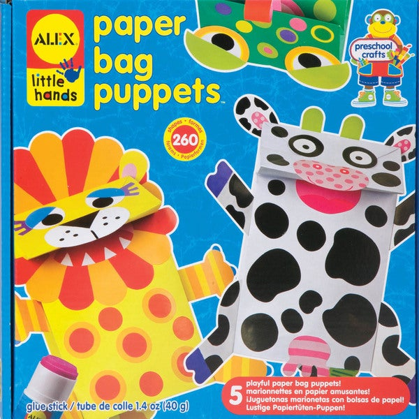 Paper Bag Puppets Kit- 10363804