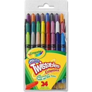 Crayola Mini Twistables Crayons-24/Pkg