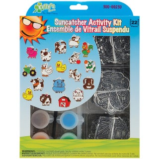 Suncatcher Group Activity Kit-Farm 18/Pkg