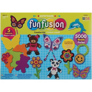 Perler Fun Fusion Fuse Bead Value Activity Kit-Creative Kid