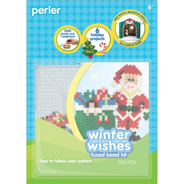 Perler Fun Fusion Fuse Bead Activity Kit-Winter Wishes