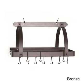 Old Dutch Rectangular Pot Rack with Grid