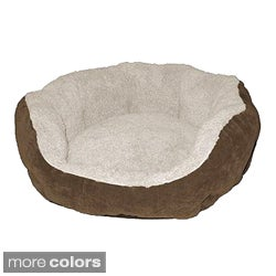Paws & Claws Quilted Cozy Animal Bed