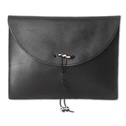 Leather 'Glorious Ebony' iPad Case (Ghana)