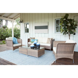 Huntington Caramel 5-piece Outdoor Furniture Set