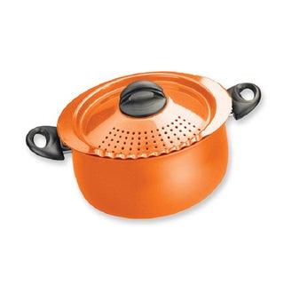 Bialetti Trends Orange 5-quart Pasta Pot