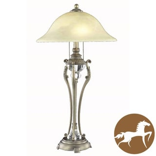 Christopher Knight Home Antique Copper 1-light Table Lamp
