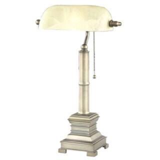 Somette Antique Copper 1-light Table Lamp
