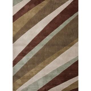 Modern Stripe Rug (2' x 3')