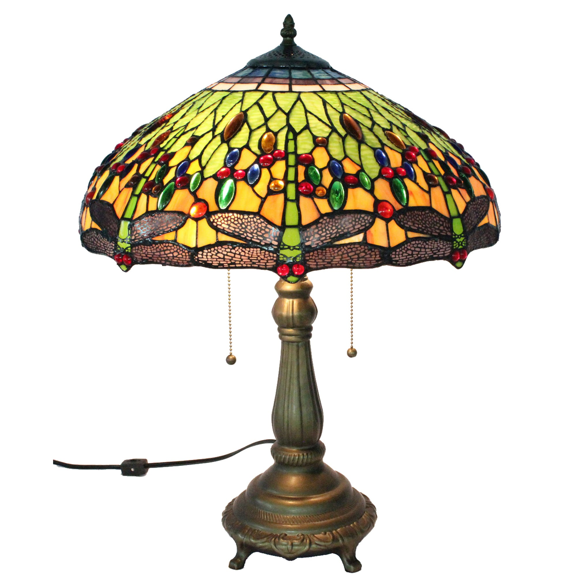 AT HOME by O Tiffany Style Dragonfly Table Lamp at Sears.com