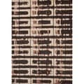 Modern Abstract Wool Tufted Rug (3'6 x 5'6)