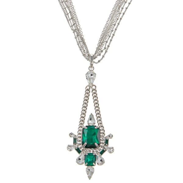 ABS by Allen Schwartz CZ 38-inch Pendant Necklace