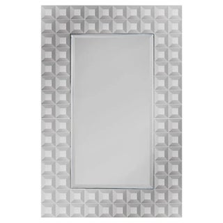 Hailey Beveled Geometric Mirror