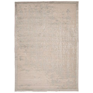 Modern Abstract Viscose/Chenille Area Rug (9' x 12')