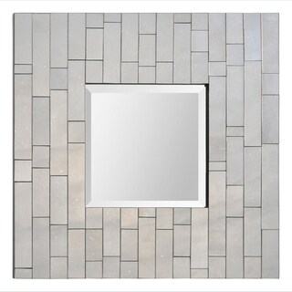 Camden Glass Brick-framed Mirror