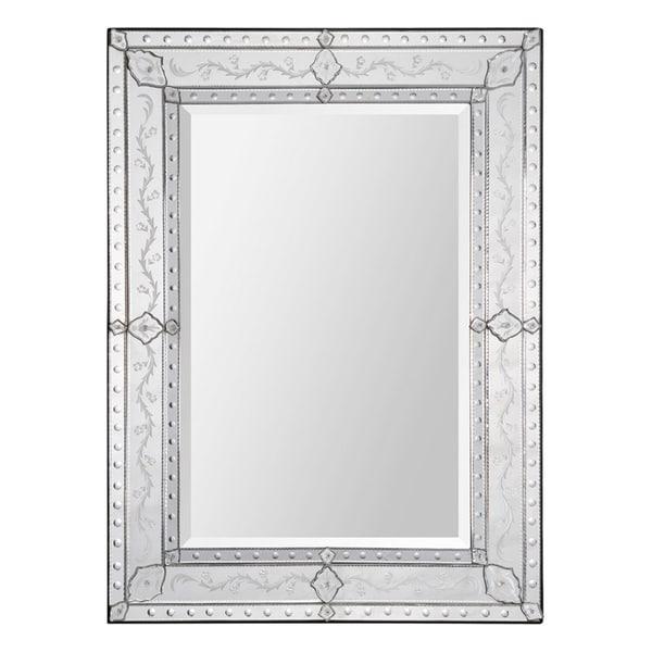 Gianna Etched Venetian Mirror