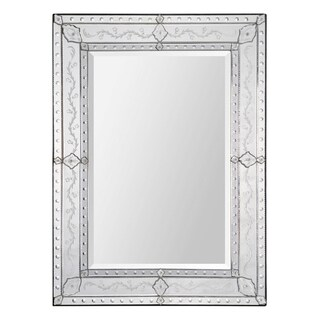 Gianna Etched Venetian Mirror