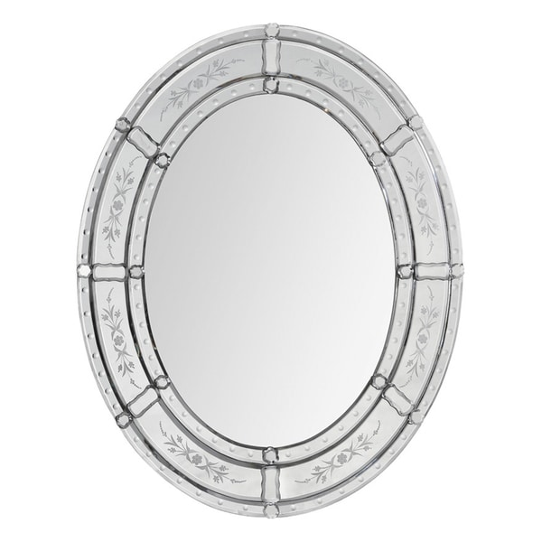 Lucia Etched Venetian Mirror