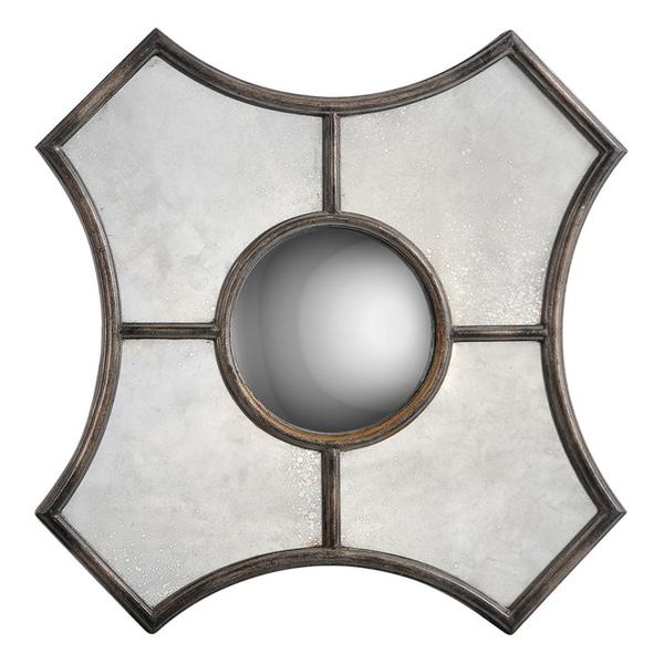 Keaton Metal-framed Convex Mirror