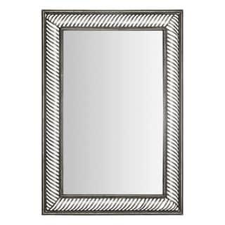 Halstad Bronze Metal-framed Convex Mirror