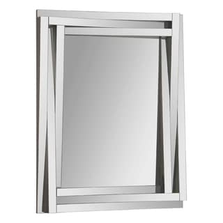 Delaney Staggered Glass-framed Mirror