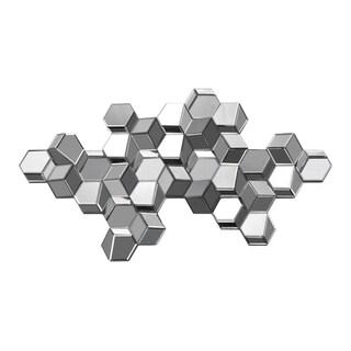 Manhattan Sculpture 3D Cube Mirror