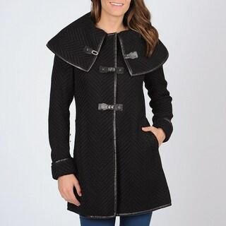 Ivanka Trump Women's Knit Toggle Coat