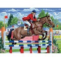Junior Large Paint By Number Kit-Show Jumping
